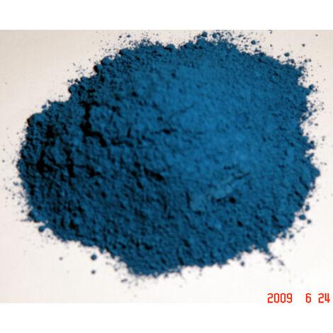 BLEU CHARRON - 250G - PIGMENT NATUREL POUR PEINTURE BLEU CHARRON À PARTIR DE 250G - bleu charron