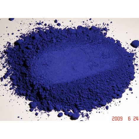 BLEU OUTREMER - 5KG - PIGMENT NATUREL POUR PEINTURE BLEU OUTREMER À PARTIR DE 250G - bleu outremer