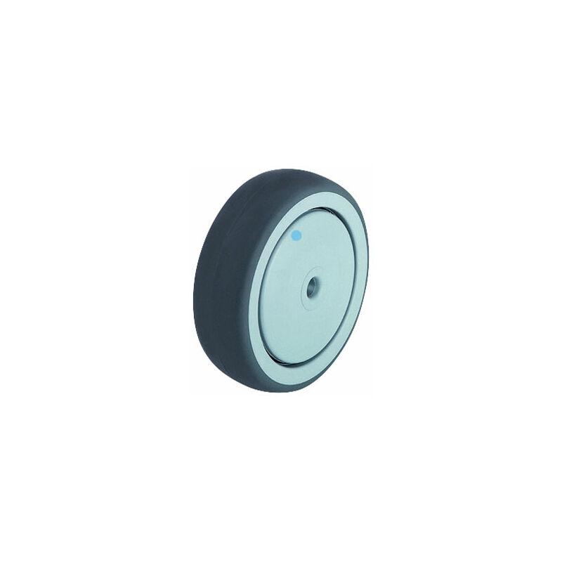 Image of 574160 TPA 80/12G Polypropylene Wheel Rubber Tread - Wheel Ø 80mm - Blickle