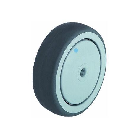 Blickle 574160 TPA 80/12G Polypropylene Wheel Rubber Tread - Wheel Ø 80mm