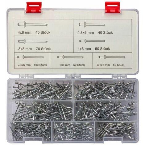 Stahl Grosskopf 11 mm Blindnieten Dichtnieten Nieten Aluminium