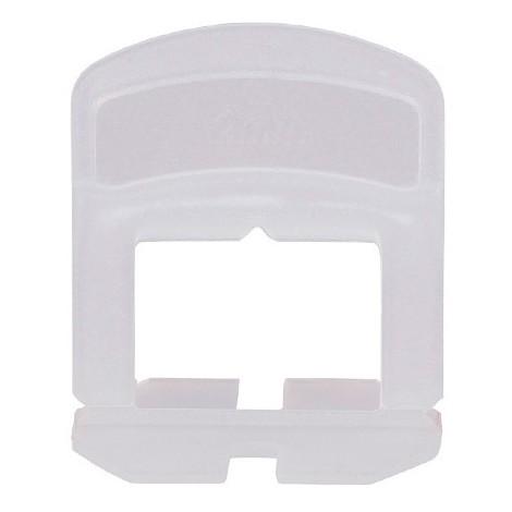 Blister de 100 croisillons 2 mm auto-nivelants de 0 à 12 mm - 11200043 Sidamo - -