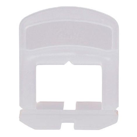 Blister de 100 croisillons 3 mm auto-nivelants de 0 à 12 mm - 11200045 - Sidamo - -