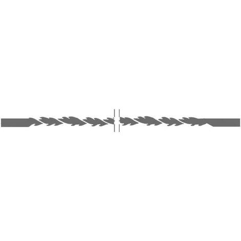 Blister de 12 pelos de 127 mm sin pasador dentado en espiral Proxxon