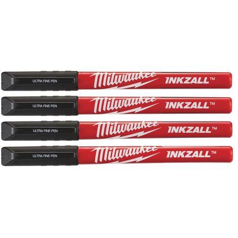 Blíster de 4 marcadores ULTRAfinos negros 0,6mm 48223164
