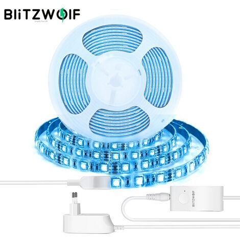 BlitzWolf BW-LT11 2M Smart APP Control Kit de tira de luces LED RGBW (enchufe europeo de 2M)