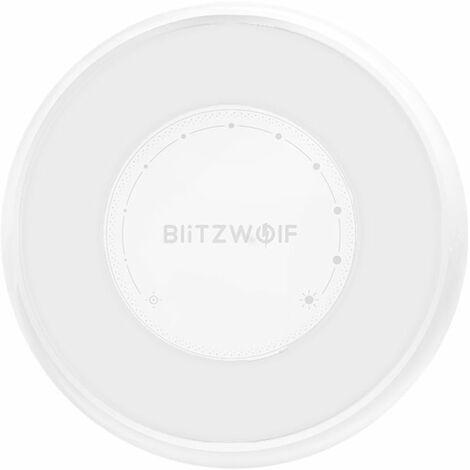 BlitzWolf & reg;?BW-LT22 Radar Sensor LED Night Light Dry Battery Touch Dimming Handling for Home WASHED