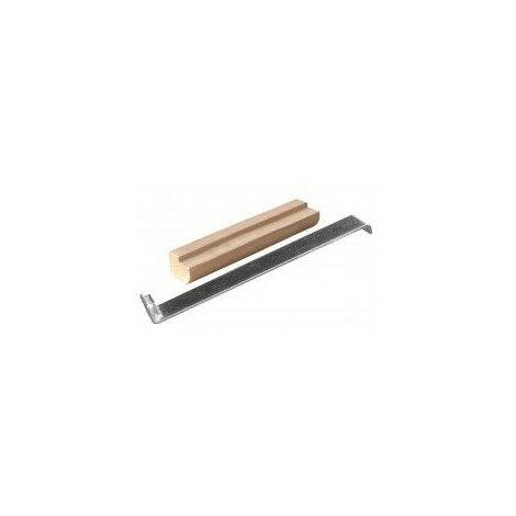 Bloc a frapper bois pour parquet200x60x30 lamage 6mm