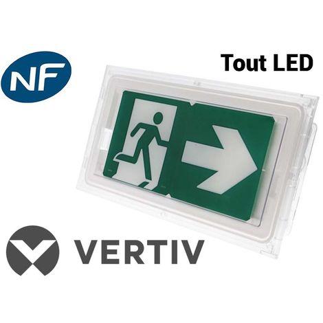 Bloc Autonome d'Eclairage de Sécurité (BAES) Eco SATI IP43 LED