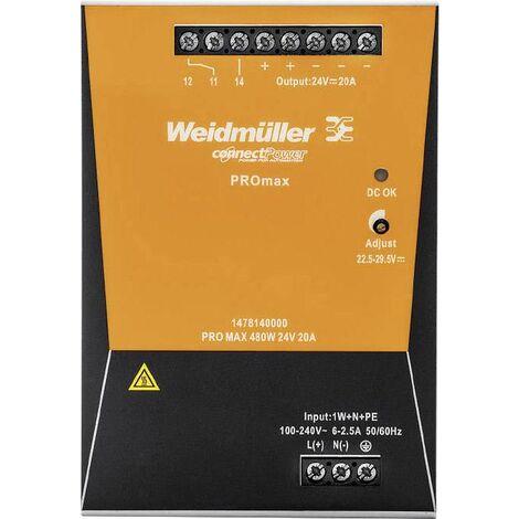 Bloc d'alimentation à découpage PROmax 1 phase W235841