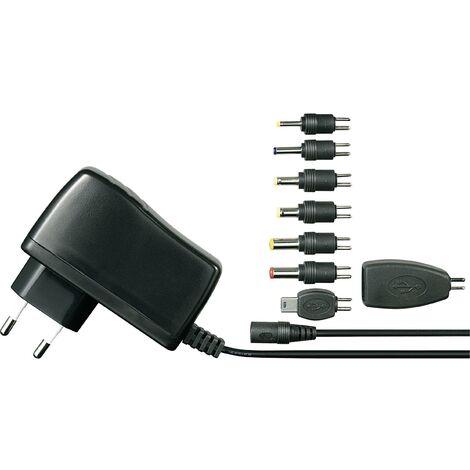Bloc d'alimentation à tension fixe VOLTCRAFT SPS5-12W SPS5-12W 5 V/DC 2500 mA 12 W convient pour Raspberry Pi 3, convient pour Raspberry Pi 2 1 pc(s) S95887