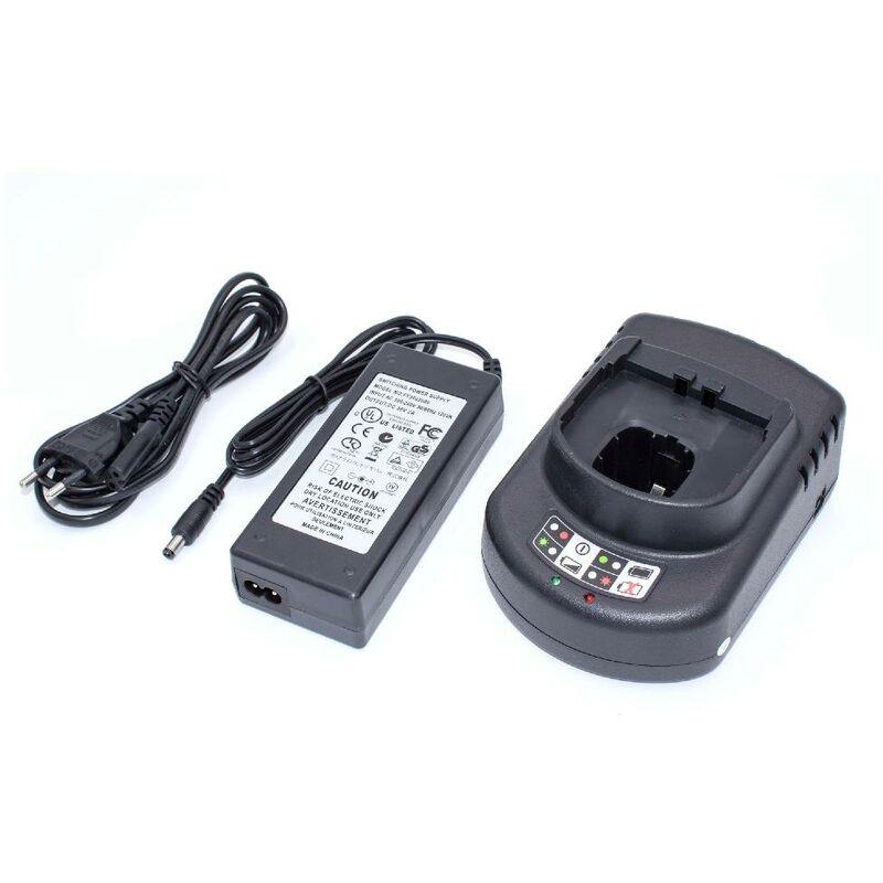 vhbw Chargeur compatible avec Ryobi / Paslode BBL-120, BD-120, BD-121, BD-122, BD-123, BD-125, BD-126 batteries Ni-Cd, NiMH, Li-ion d'outils