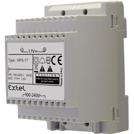 Bloc d'alimentation rail DIN Extel Modulo B C226661