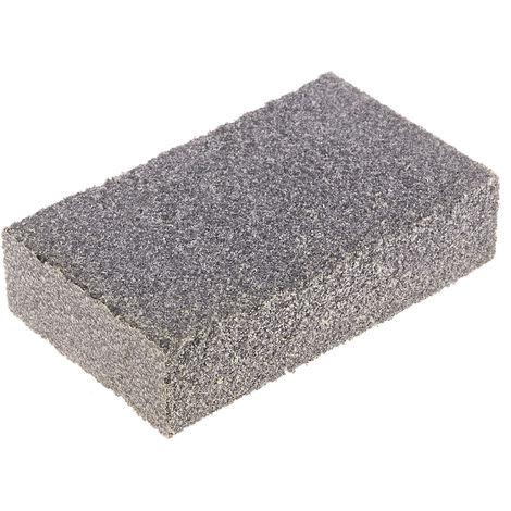 Bloc de ponçage, Oxyde d'aluminium, RS PRO, Moyen, Grain 60, 80mm x 50mm x 20mm