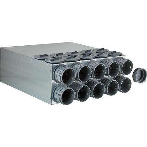 Bloc de repartition FRS-VK10-75/160 10 flexibles FRS-R75 revetement insonorisant