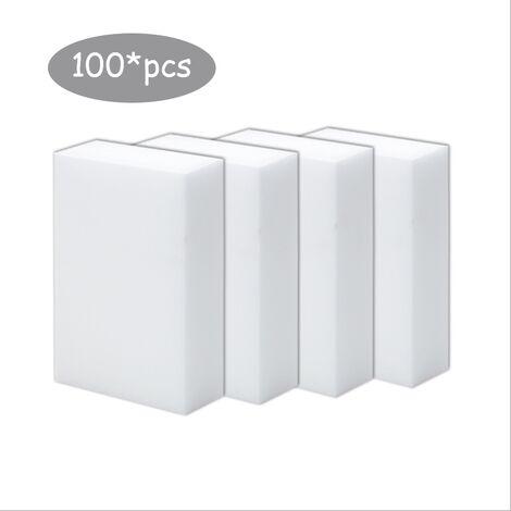 Bloc d'éponge magique de lingette magique nano-éponge haute densité de première classe (100 pièces