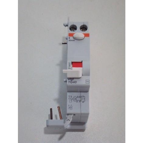 Bloc differentiel 40A 1P+N 30mA type AC instantané tete de groupe VIGI TG40 SCHNEIDER ELECTRIC 21482