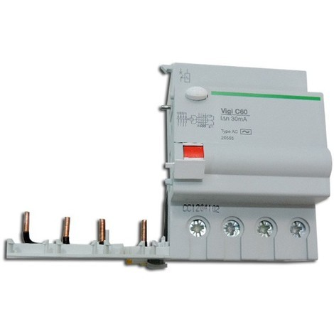 Bloc differentiel 63A 4P 30mA type AC 230..415V VIGI C60 MULTI9 SCHNEIDER ELECTRIC 26565
