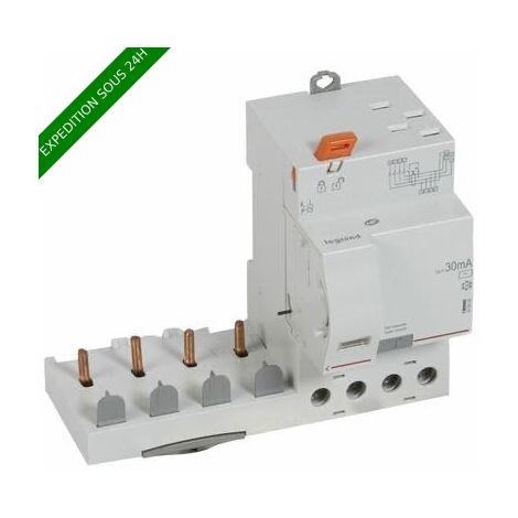 """main image of """"Bloc différentiel adaptable automatique DX³ pour disjoncteur 1 module par pôle - 4P 400V~ - 63A - typeAC 30mA"""""""