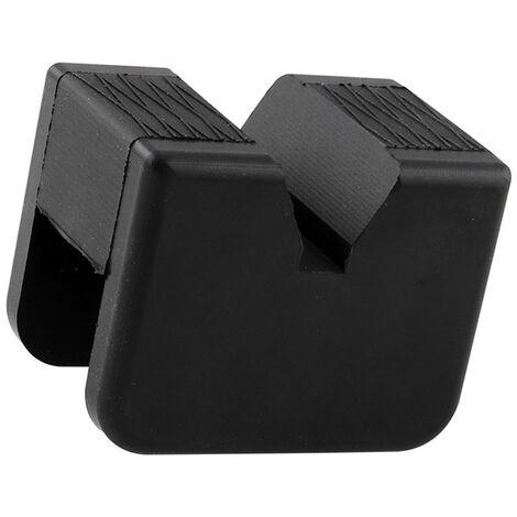 Bloc en caoutchouc de support universel de voiture, bloc en caoutchouc de support de cric, noir A0154