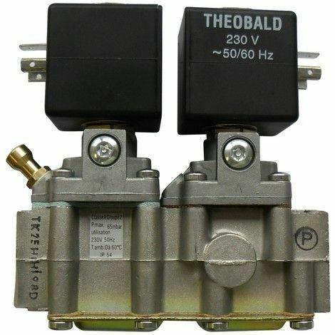 Bloc gaz TK25 ventouse Réf. F3AA40436 FRISQUET