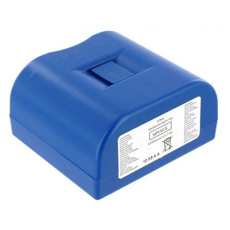 Bloc Lithium Daitem 3.6V 17Ah pour coffret technique MPU01X
