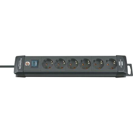 Bloc multiprise Premium 6 empl. H05VV-F3G1,5 3m brennenstuhl