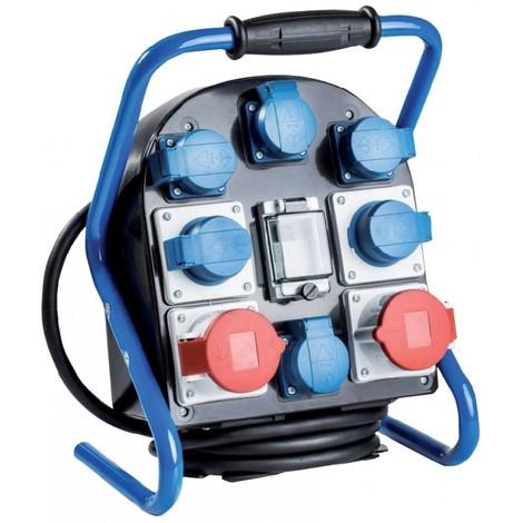 Bloc répartiteur électrique portatif de chantier CEE VTG9 FiL 25.6S Protection IP44 - as - Schwabe 60902