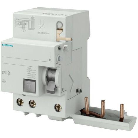 Blocage de différentiel Siemens 3P 40A 30mA AC de Type 3 Modules X 5SY