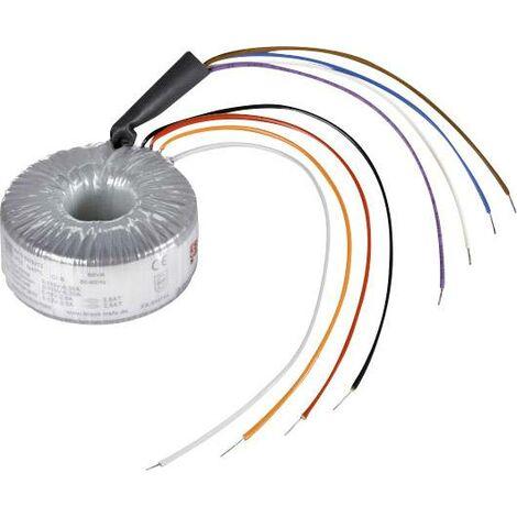 Block RKD 160/2x35 Transformateur torique 2 x 115 V 2 x 35 V/AC 160 VA 2.28 A Y076531