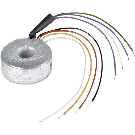 Block RKD 500/2x35 Transformateur torique 2 x 115 V 2 x 35 V/AC 500 VA 7.14 A D97485