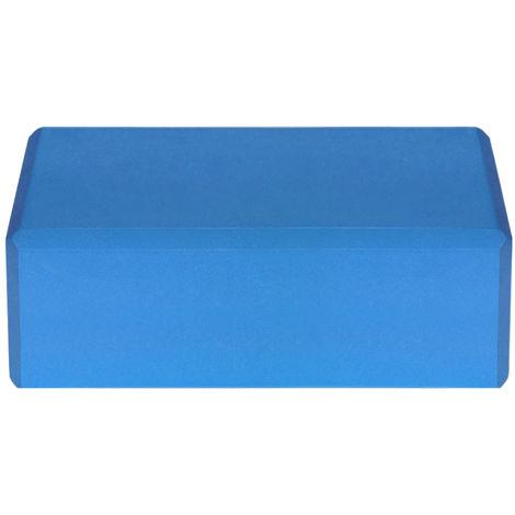 Blocs De Yoga Eva, Surface Antiderapante Sans Latex, 1Pc, Bleu