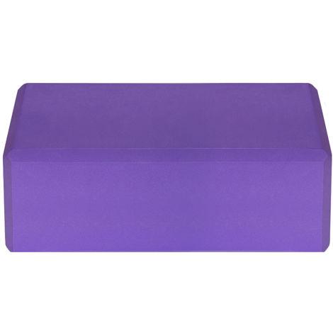 Blocs De Yoga Eva, Surface Antiderapante Sans Latex, 1Pc, Violet