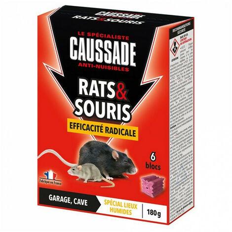Blocs rats et souris - efficacité radicale - 180g CAUSSADE