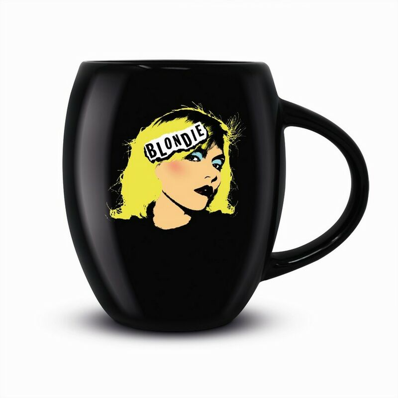 Image of Punk Mug (One Size) (Black) - Blondie