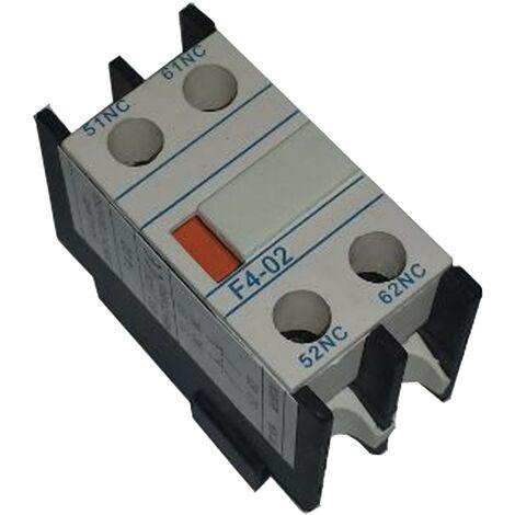 Bloque 2 contactos NA frontales para contactor