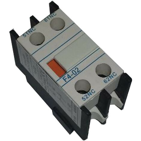 Bloque 2 contactos NA NC frontales para contactores