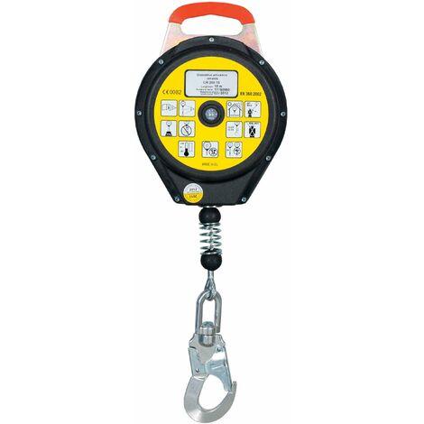 Bloque anti caídas retráctil de cable de 6-10-15m - EN360 (ref. CR200)