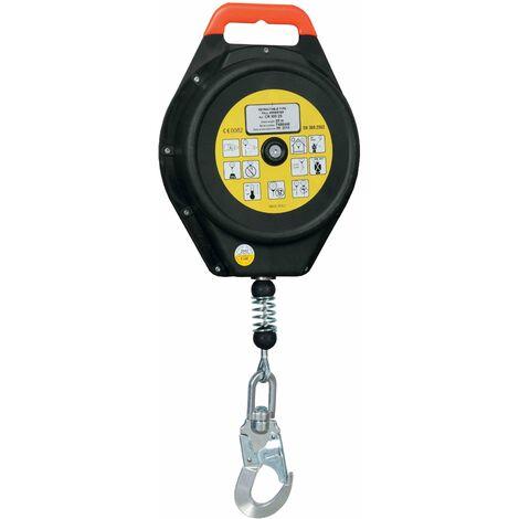 Bloque anticaídas retráctil cable 25-28 m - EN 360 (ref. CR300)