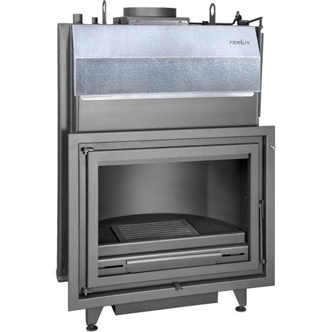 Bloque Estufa de Leña Insertable 24 kW Hogar TJ K-80 Agua