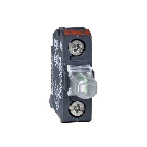 BLOQUE LUM. LED 230V VERDE SCHNEIDER ELECTRIC ZALVM3