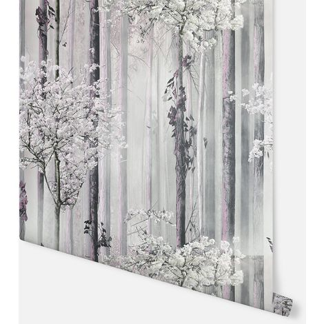 Blossom Forest Dusky Pink Wallpaper - Arthouse - 908401