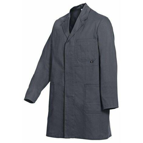 Blouse basic 100 % coton bleu roi taille 54-56