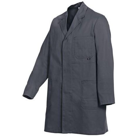 Blouse basic 100 % coton gris taille 50-52
