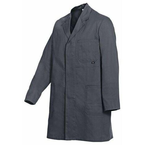 Blouse basic 100 % coton gris taille 54-56