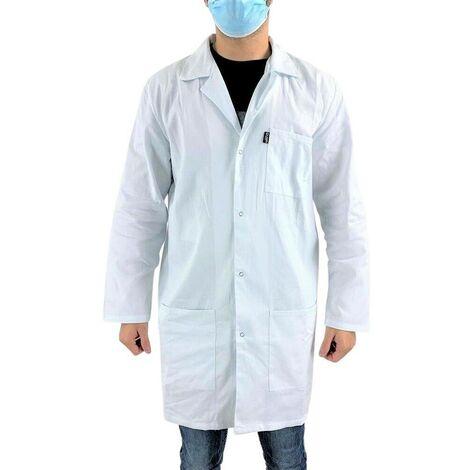 Blouse blanche chimie étudiant et lycéen Pigment LMA Blanc 3XL