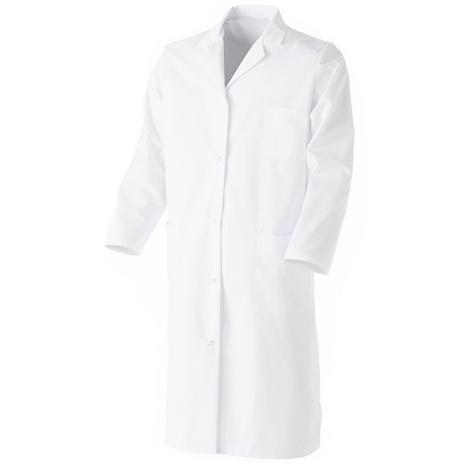 Blouse blanche de chimie 100% coton pour collège, lycée et université - BPV - Mixte Blanc 5 (56-58) Blanc 5 (56-58)
