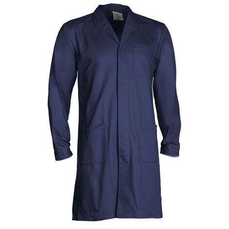 Blouse de travail 100% coton Coverguard Partner Bleu L
