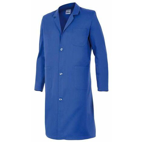 Blouse de travail 3 poches homme 65% polyester 35% coton 175 gr/m2 - Bleu Azur - 700 - Velilla