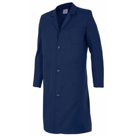 Blouse de travail 3 poches homme 65% polyester 35% coton 175 gr/m2 - Bleu Marine - 700 - Velilla
